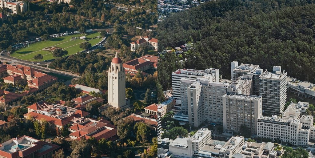 Stanford and UCSF